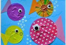 Under the Sea / Teach your kids all about the ocean with these easy-to-make crafts / by Highlights for Children