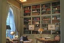 Home Library / Inspiration and ideas for a home library in a country house