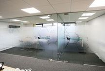 Frameless Glass Partitioning / Examples of Frameless Glass Partitioning installed by Glass AT Work