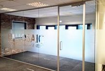Acoustic Glass Partitioning / Examples of Acoustic Glass Partitioning installed by Glass AT Work