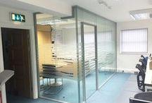 Double Glazed Glass Partitioning / Examples of Double Glazed Glass Partitioning installed by Glass AT Work
