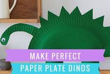 Dinosaurs / Art, illustrations, and learning that will make your child dino-mite!
