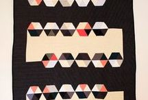 Quilts and Quilt Inspiration / Colour blocking, pattern, bright fabric. Images that inspire. / by Rose Zack