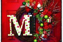 Christmas! <3 / by Kenzie Schrock  | Kenzie's Adoornments