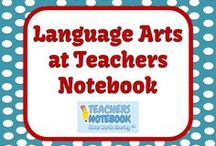 Language Arts - Teachers Notebook Elementary Items / This board is full of Language Arts Products and FREEBIES from teacher-authors' Teachers Notebook Stores! Please email FernleySmith@yahoo.com if you would like to be added to this board. / by Fern Smith