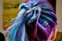 colourful hair / Colorful hair/hair color inspiration.  / by Chantel Wilson-Whittier