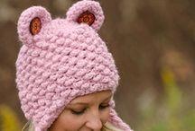Crocheted Scarfs, Hats, Ear Muffs / by Barbara Tappa
