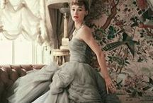 Vintage fashion / Curated from all over the pinterest world - fashion from the yester-years.