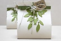 Bomboniere e pacchetti regalo / by Oltre Tata