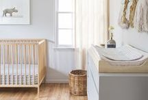 Nursery Ideas / From nautical stripes to way over the top girlie heaven we've gathered some wonderful nursery décor ideas. But there's just one rule - you cannot have too much bunting!