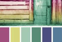 Color Combos To Love / by Sabrina Boley