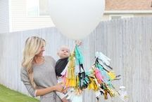 Birthday Bash Party Ideas / Ideas pinned by PacaPod and Natalie Jensen for celebrating your child's birthday in style.