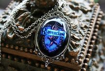Ravenclaw / Blue and Bronze. Wear your colors to show your pride.   -wit beyond measure is man's greatest treasure- / by Kelsey