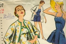 Sew Retro / Vintage sewing patterns / by Emily Underwood