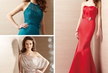 Belsoie  / All dresses by Belsoie are available in 40 + colors. Expect a 12 week delivery on size and color order. Great line for bridal parties ~ mirellas.ca