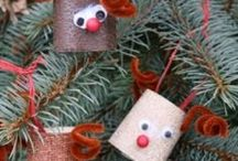 Kiddies Christmas Crafts / Get out the glue, glitter and paint it's time to get crafty!