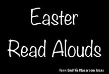 Easter Read Alouds / A collection of Easter read alouds for elementary teachers. {Palm Sunday, Passover, Good Friday and Easter} / by Fern Smith