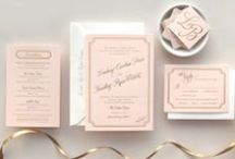 ⁞ Wedding Inv. Blush Gold ⁞