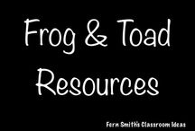 Frog and Toad Resources / Frog and Toad Series {by Arnold Lobel} Resources for Elementary School Teachers from Fern Smith's Classroom Ideas. / by Fern Smith