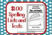 Spelling Lists and Tests / Fern Smith's Classroom Ideas Spelling Lists and Tests / by Fern Smith