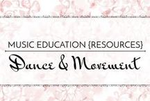 Dance & Movement - Music Education {Resources} / Dance, movement, and listening activities for the elementary/middle school music classroom  Music Education {Resources} Dance & Movement