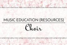 Choir - Music Education {Resources} / Sight-singing, repertoire, performance ideas, resources, and strategies for elementary and middle school choir.