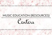 Centers - Music Education {Resources} / Centers and learning stations in the elementary music classroom