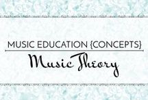 Music Theory - Music Education {Concepts} / Resources and activities for teaching more advanced upper elementary and middle school theory concepts.