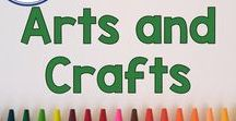 Arts and Crafts / Developing creativity and imagination with arts and crafts for elementary aged students and your children at home! Crafts are fun and full of learning since they encourage fine motor skills, math, and language skills in kids. Pinned by Fern Smith of Fern Smith's Classroom Ideas