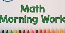 Morning Work - Math / This board has math morning work from Fern Smith's Classroom Ideas TpT Store. It has resources, tips, color by numbers, color by codes, task cards, printables, math centers, reading centers, resources, and freebies from Fern Smith. First Grade, Second Grade, Third Grade, Fourth Grade and Fifth Grade Teachers follow this board for inspirations for instructional ideas, fun activities and printables for math morning work. Perfect for teachers in 1st, 2nd, 3rd, 4th and 5th grade.