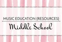 Middle School - Music Education {Resources} / Ideas for middle school general music and strategies for engaging middle school students