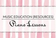 Piano Lessons - Music Education {Resources} / Resources for private piano teachers.
