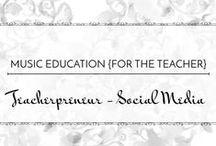 Teacherpreneur - Social Media / Using social media to boost your business #teacherpreneur