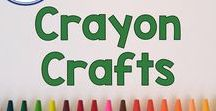 Crayon Crafts For Children / Use Crayon Crafts to develop creativity and imagination with arts and crafts for elementary aged students and your children at home! Crayons are fun and full of learning since they encourage fine motor skills, math, and language skills in kids. Pinned by Fern Smith of Fern Smith's Classroom Ideas