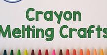 Crayon Melting Crafts / Use Crayon Melting Crafts to develop creativity and imagination with arts and crafts for elementary aged students and your children at home! Crayons are fun and full of learning since they encourage fine motor skills, math, and language skills in kids. Pinned by Fern Smith of Fern Smith's Classroom Ideas