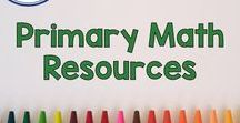 Primary Math Resources / Pinterest board for primary math resources from Fern Smith's Classroom Ideas. It has packets, tips, color by numbers, color by codes, task cards, printables, math centers, center games, resources, and freebies from Fern Smith. First Grade, Second Grade and Third Grade Teachers follow this board for inspirations for primary math instructional ideas, fun activities and classroom management. Perfect for home school families and teachers in the 1st, 2nd, and 3rd grade.