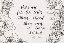 Words / by Ashley Vinton