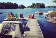 Cottage/lake / by Lisa Mclenaghan