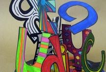ART Ed - Word Art / by Jennifer .·:*¨¨*:·. CRAcademy.·:*¨¨*:·
