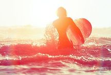 Surf LOVE / The waves inspire my dream life of sun, sand and surf. / by Rachel Bogan