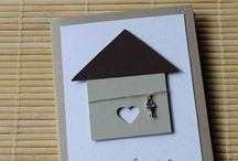 Cards - New Home / Cards to celebrate a new home / by mojo7436
