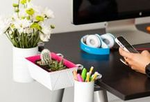Office Productivity / Here are some great ways to make your office space more productive yet still looking good!