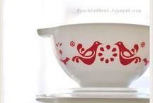 Pyrex & Fiesta Obsessed / Vintage or new, these are gorgeous dishes