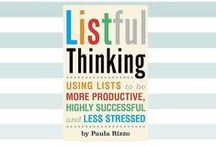 Listful Thinking Book