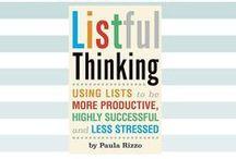 Listful Thinking Book