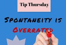"""Productivity Tip Thursday / My secret to success is a list! Introducing """"Tip Thursday"""" - for shortcuts on getting more done in your busy life. More great list making and productivity ideas at Listproducer.com"""