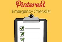 Emergency Packing List / I think that having an emergency packing list is something everyone should do, because you just never know what will happen. This way when your brain isn't working – your list will.