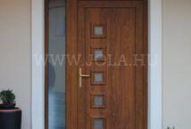 Bejárati ajtók - JOLA referenciaképek / Ízelítő az általunk forgalmazott és beépített bejárati ajtókból.