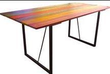 """おしゃれ家具 Fashionable Furniture / 当社の着色木材を使用したオシャレな家具を逐次掲載していきます。Fashionable furniture used our material """"colored wood"""" will be uploaded here."""