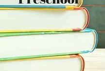 Homeschooling - Preschool / Ideas, tips, and tricks for the youngest homeschoolers